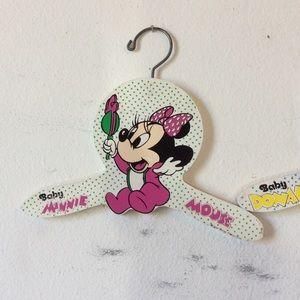 Disney Vintage 1985 Wood Baby Hangers